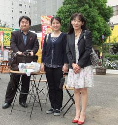司会の高橋先生、鈴木智美先生と