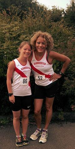 Charlotte McGlone (86) and Tania Hamilton (52)