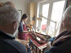 Geigenbau Werkstatt
