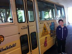 福島幼稚園の園バス