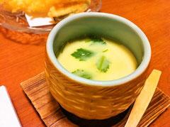 八女市立花寿司茶碗蒸し