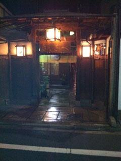 京都の民家