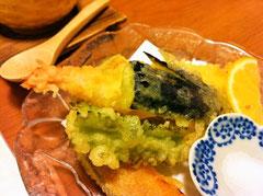 八女市立花寿司天ぷら