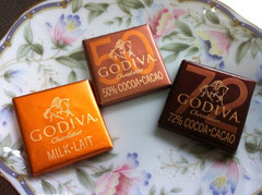 ゴディバ75%チョコレート
