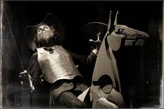 Foto dello spettacolo teatrale Don Chisciotte e Sancio Panza