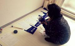 日本音叉ヒーリング研究会onsalaboの音叉ヒーリング講座の生徒さん