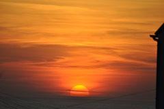 Sonnenuntergang bei Plozevet