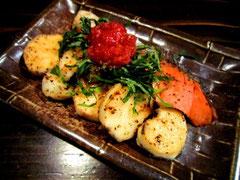 鮭と長芋の梅しそ和え
