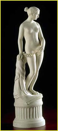 Esclave grecque, Hiram Powers (cliquer sur l'image)