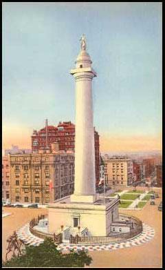 Statue de Washington, Baltimore