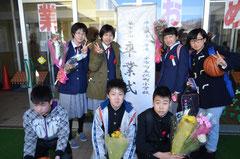 沢町小学校卒業式