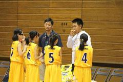 W鈴木コーチ。頼りになります。