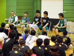 多嶋選手、西川選手への質問コーナー