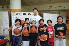 松田選手と記念撮影 ☝画像クリックで拡大