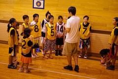 倶知安ミニバスさんの女子も混ぜて試合を行ないました。