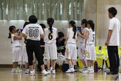 OBコーチや中学OGたちも来てくれました!