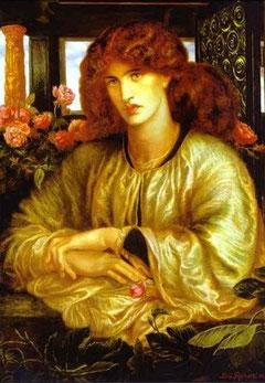 Dante Gabriel Rossetti La donna della finestra 1879