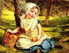 Dipinto di SOPHIE ANDERSON