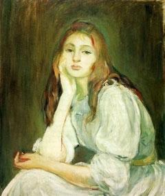 BERTHE MORISOT - Julie  daydream