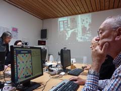 Scrabble contre l'EPN de Folelli en Corse