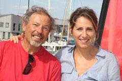Jean Moritz et Maud Fontenoy