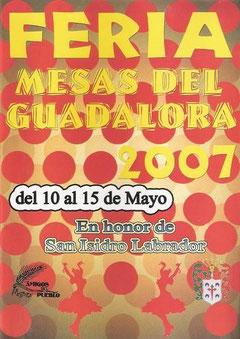 Cartel Feria 2007