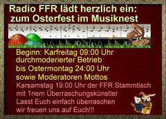 Osterfest im Musiknest bei Radio-FFR