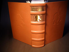 Sherlock Ledereinband Sonderausgabe Sammlerstück