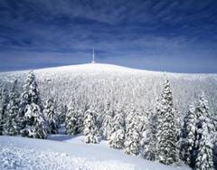 Altvatergebirge im Winter