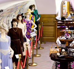 Vintage Shop in Prag