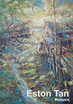 galerie time Vernissage und Ausstellung Malerei der Künstlerin Eston Tan, Malaysia