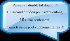 double kit doudou