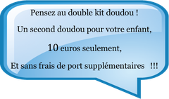 double kit doudou