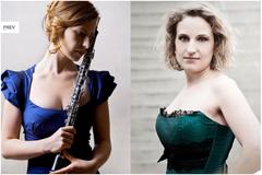 Harfe und Oboe