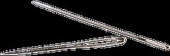 Cómo tejer en dos agujas o palitos: agujas laneras
