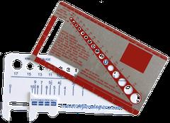 Cómo tejer en dos agujas o palitos: medidores