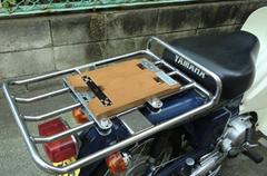 タモ集成材 自作 バイク荷台用のベース DIY 日曜大工