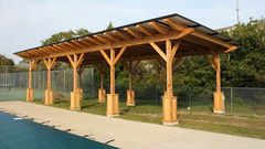 Custom solar shade structure