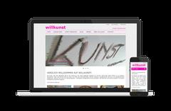 willkunst mit neuer Website