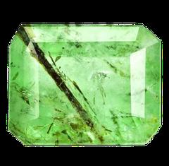 Smaragd mit Rutil aus Brasilien