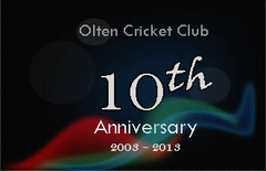 Olten Cricket Club 10th Anniversary, 2003 - 2013