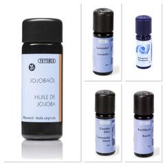 DIY Rezepte Aromatherapie ätherische Öle Jojobaöl