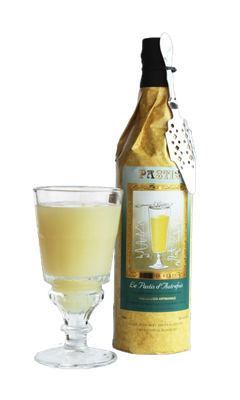 Pastis La Muse Verte with louche