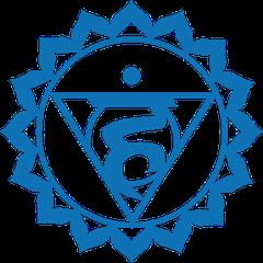 Représentaion du 5ème chakra, Vishuddha