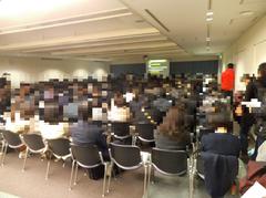 日本環境感染学会 スイーツセミナーの様子