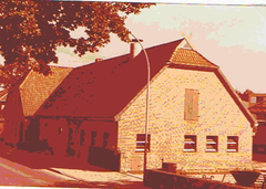 Der Hof um 1950