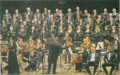 Der Cornelius-Burgh-Chor und das Orchester der Musikakademie Breslau führten im März in der Stadthalle Erkelenz das Stabat Mater von Joseph Haydn auf.                               rp-foto: günter passage