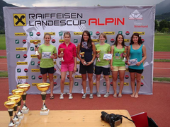 Siegerbild - Katrin ganz links, Julia Platz 4