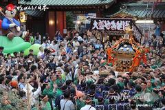 神田祭, 2015年5月10日〈東神田三丁目町会〉宮入渡御