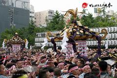 三社祭, 本社神輿宮出し画像